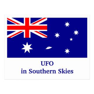 UFO en cielos meridionales Postales