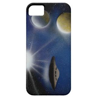 UFO en el espacio (caso del iPhone) iPhone 5 Carcasa