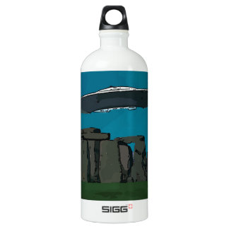 UFO en Henge de piedra