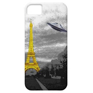 UFO en París iPhone 5 Funda