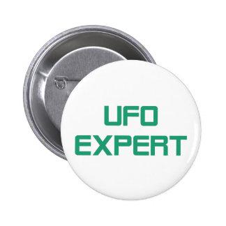Ufo expert 2 inch round button