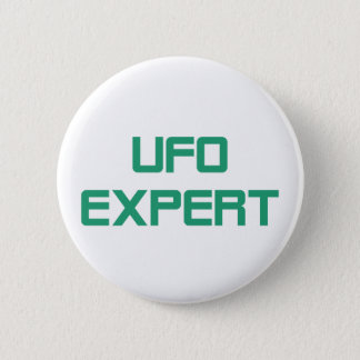 Ufo expert pinback button