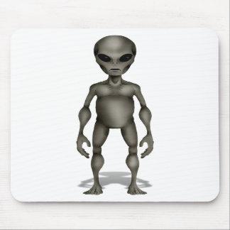 UFO extranjero gris clásico del incidente de Roswe Alfombrilla De Raton