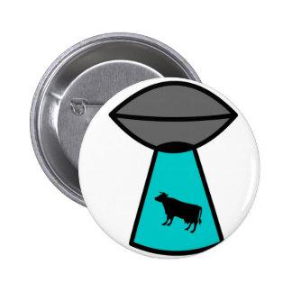 UFO extraño de la vaca Pin