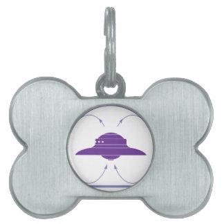 UFO field Pet ID Tags