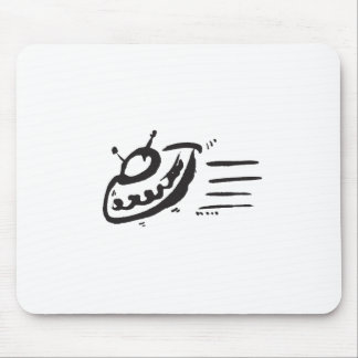 UFO - Flying Saucer - Spaceship Mouse Pad