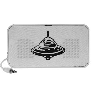 UFO Flying Saucer iPhone Speakers
