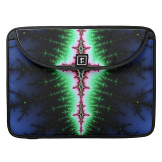 UFO Fractal Abstract Design MacBook Pro Sleeves