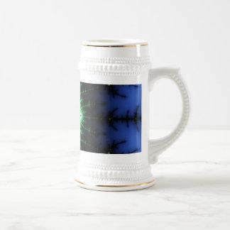 UFO Fractal Abstract Design Coffee Mug