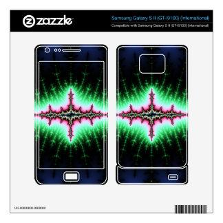 UFO Fractal Abstract Design Samsung Galaxy S II Skins
