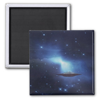 UFO galaxies Refrigerator Magnet