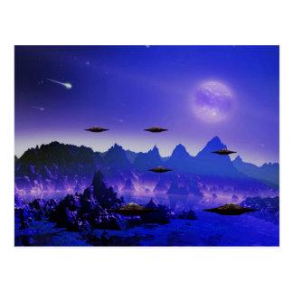 UFO galaxies Postcard