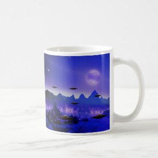 UFO galaxy Coffee Mug