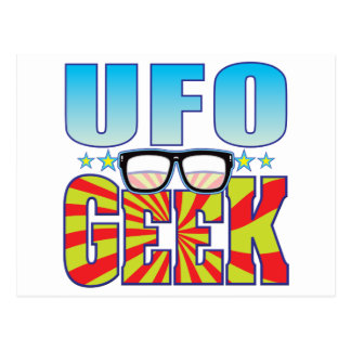 UFO Geek v4 Postcards