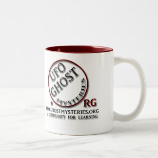 Ufo Ghost Mysteries Two-Tone Coffee Mug
