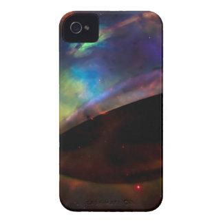 UFO grande con la nebulosa Case-Mate iPhone 4 Cárcasas