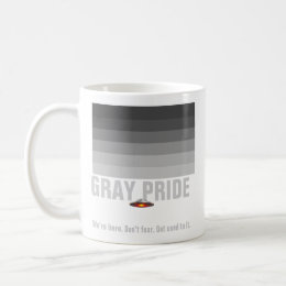 UFO Gray Pride mug