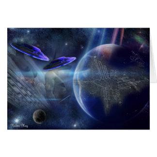 UFO  - Greeting cards