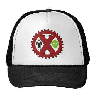 UFO Hoax is a Hoax Logo Trucker Hats