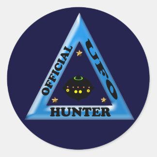 UFO Hunter Classic Round Sticker