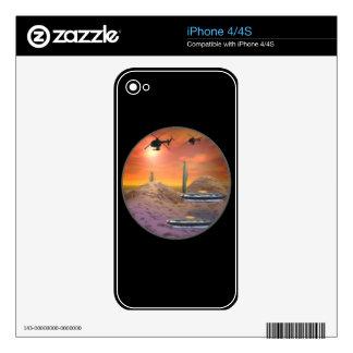 UFO Hunters Skin For iPhone 4S