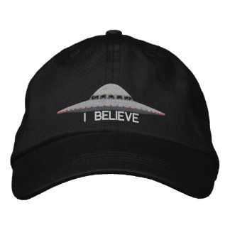 UFO I BELIEVE BASEBALL HAT