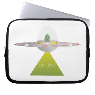 UFO I BELIEVE LAPTOP SLEEVE