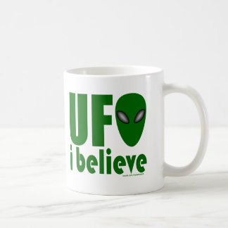 UFO I BELIEVE T-SHIRTS AND GIFTS COFFEE MUGS