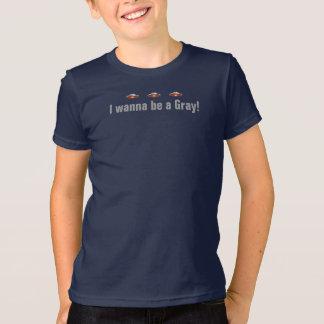 UFO I Wanna Be A Gray! T-shirt