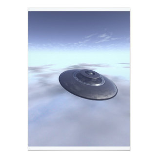 UFO in Flight Invitation
