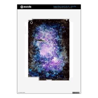UFO in space artwork iPad 3 Skins