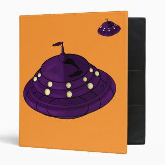 UFO Invasion! 3 Ring Binder