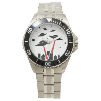UFO Invasion Wrist Watch