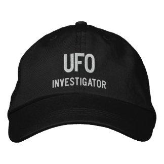 UFO, investigador Gorra Bordada