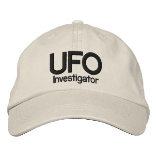 UFO Investigator Baseball Cap