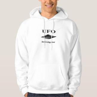 UFO Investigator Hoodie - Black Design