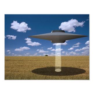 """UFO INVITACIÓN 4.25"""" X 5.5"""""""