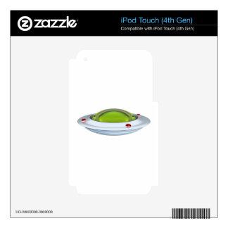 UFO iPod TOUCH 4G SKIN
