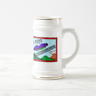 UFO Is My Mode Of Transportation Beer Stein