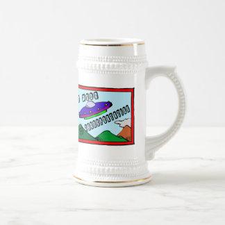 UFO Is My Mode Of Transportation Coffee Mugs