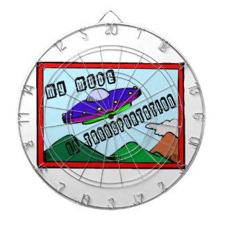 UFO Is My Mode Of Transportation Dart Boards