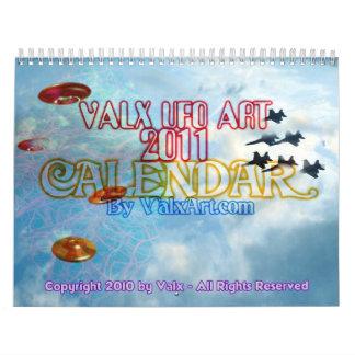 UFO - jets fly in the sky 2011 calendar