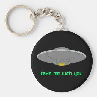 UFO keychain - take me with you