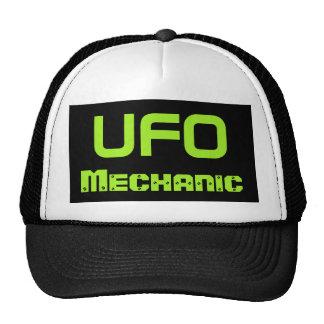 UFO Mechanic Hat Trucker Hat