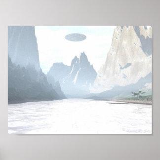 UFO - Mountain Creek Print