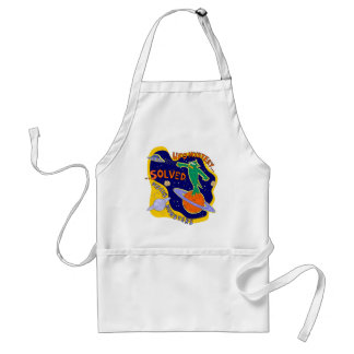 ufo mystery solved adult apron