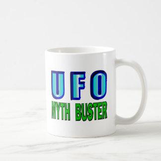 UFO Myth Buster Classic White Coffee Mug