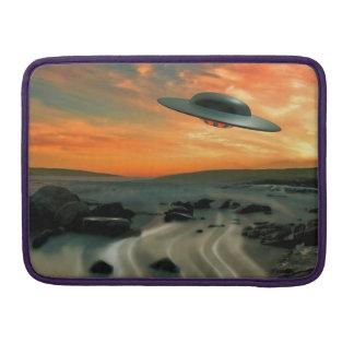 UFO Over Coast Sleeve For MacBooks