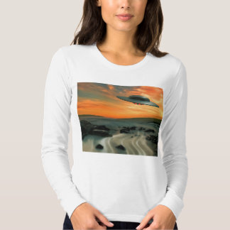 UFO Over Coast T-shirt