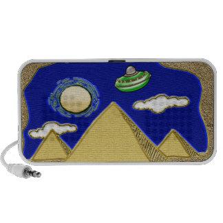 UFO Over Egypt Notebook Speaker